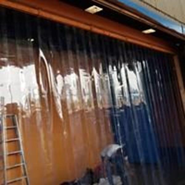 Tirai Plastik Pvc Curtain Kuning (081287202099)