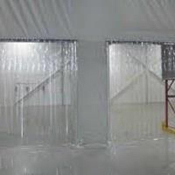 Mica Pvc Curtain Transparan (Mica Vynil)
