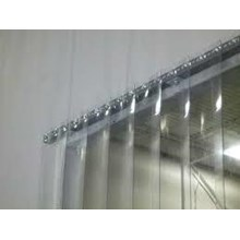 Tirai Plastik Pvc Curtain Transparan (Clear) 081287202099