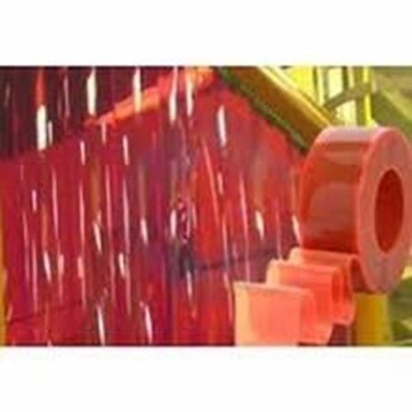 Tirai Plastik Pvc Merah (021 22683207)