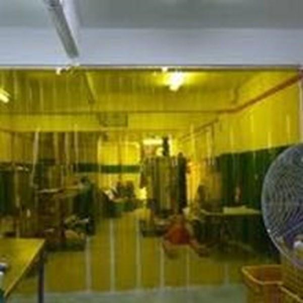 Pvc Strip Curtain Merah Kuning Yellow Clear 021 22683207