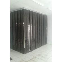 Tirai Plastik Pvc Opaque Black (Tirai Plastik Pvc Hitam)