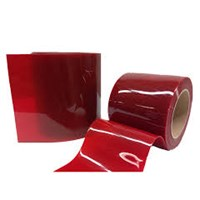PVC Strip Curtain Merah