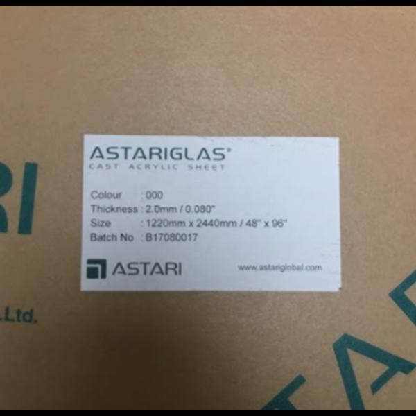 Akrilik Cast Sheet Astariglass