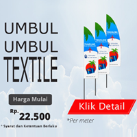 Cetak Banner Spanduk Digital Textile Full Color