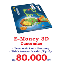 Cetak Kartu E-Toll 3D Timbul