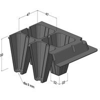 Distributor Pot Tray 3