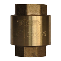 Brass Lift Check Valve