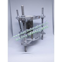 Expansion Joint With SUS304 Inner Sleeve PN 25 TIE ROD