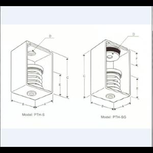 Spring Vibration Isolating Hanger PTH