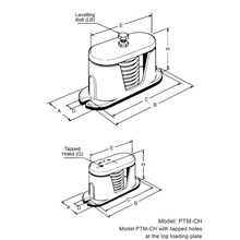 PTM-C • HOUSED SPRING ISOLATOR