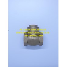 Swing Check Valve Kuningan PN16 DOUBLE LIN