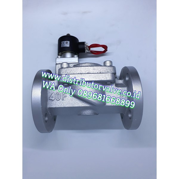 Solenoid Valve Flange END 10K Steam or Water