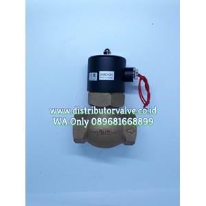 Solenoid valve UNI-D Steam or Water Brass Drat