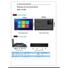 TV LCD Multimedia LCD Touch Screen 43 Inch  1