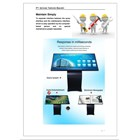 TV LCD Multimedia LCD Touch Screen 55Inch  3