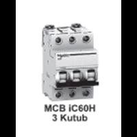 MCB  iC60H  3kutub      1A  A9F