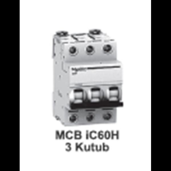 MCB  iC60H  3kutub      1A  A9F84301