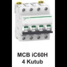 MCB  iC60H  4 kutub      1A  A9F84401