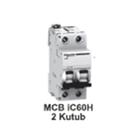 MCB  iC60H  2kutub      1A  A9F85202 1