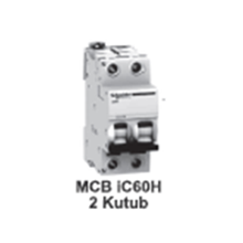 MCB  iC60H  2kutub      1A  A9F85202