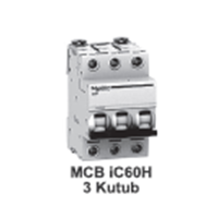 MCB  iC60H  3kutub      1A  A9F84101