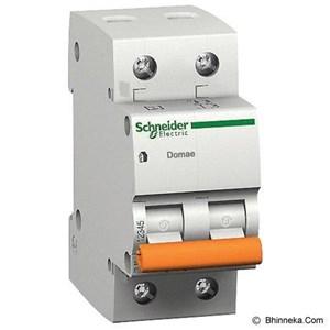 MCB  Domae 2 kutub 25A DOM11234SNI 4.5kAMCB / Circuit Breaker