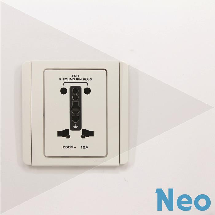 Jual Schneider Electric Neo Stop Kontak International Type