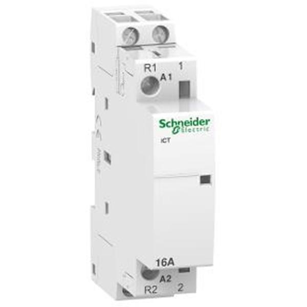 Contactor DIN Acti9  iCT 16A 1NC + 1NO   240 V  2LEbar 9mm  Mod  A9C22712