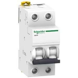 MCB / Miniature Circuit Breaker Acti 9 iK60N 2 Kutub 6A A9K27210