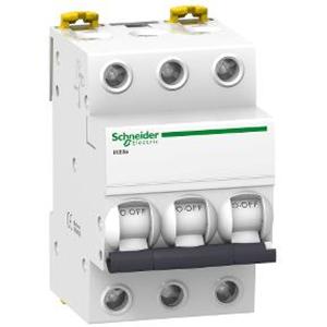 MCB / Miniature Circuit Breaker Acti 9 iK60N 3 Kutub 10A A9K24310