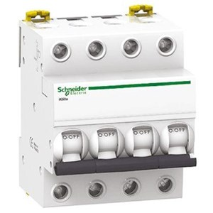 MCB / Miniature Circuit Breaker Acti 9 iK60N 4 Kutub 6A A9K24406