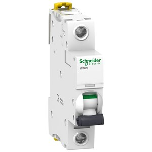 MCB / Miniature Circuit Breaker Schneider iC60N 1kutub 1A  A9F74103