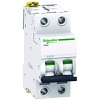 MCB / Miniature Circuit Breaker Schneider iC60N 2 kutub 50A A9F74250