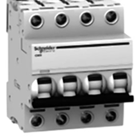 MCB / Miniature Circuit Breaker Schneider iC60N 4 kutub 10A A9F74410