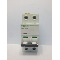 MCB / Miniature Circuit Breaker Schneider iC60H 2 Kutub 10A A9F84210