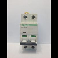 MCB / Miniature Circuit Breaker Schneider iC60H 2 Kutub 50A A9F84250