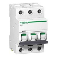MCB / Miniature Circuit Breaker iC60H 3 Kutub 50A A9F84350