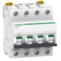 MCB / Miniature Circuit Breaker iC60H 4 Kutub 4A A9F84404