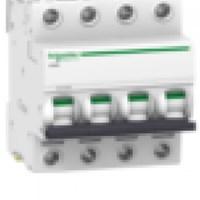 MCB / Miniature Circuit Breaker iC60H 4 Kutub 6A A9F84406