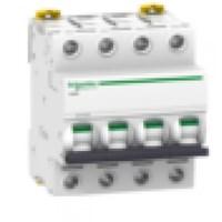 MCB / Miniature Circuit Breaker iC60H 4 Kutub 20A A9F84420