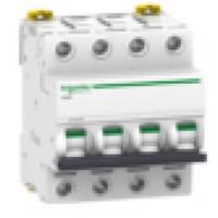 MCB / Miniature Circuit Breaker iC60H 4 Kutub 25A A9F84425