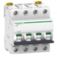 MCB / Miniature Circuit Breaker iC60H 4 Kutub 50A A9FF84450