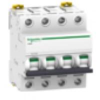 MCB / Miniature Circuit Breaker iC60H 4 Kutub 63A A9F84463