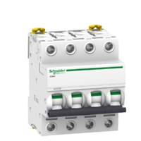 MCB / Miniature Circuit Breaker iC60H 4 Kutub 25A A9F85425