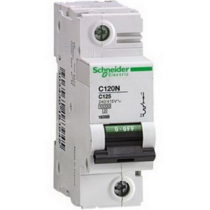MCB / Miniature Circuit Breaker C120N 1 Kutub 125A A9N18359