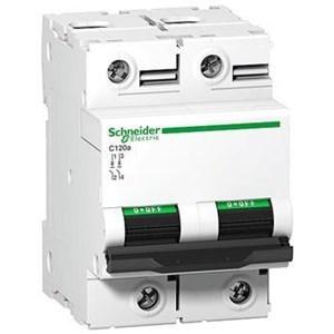 MCB / Miniature Circuit Breaker C120N 2 Kutub 80A A9N18361