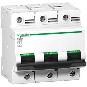 MCB / Miniature Circuit Breaker C120N 3 Kutub 100A A9N18367
