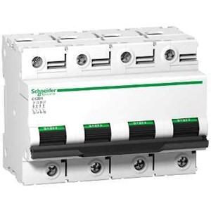 MCB / Miniature Circuit Breaker C120H 4 Kutub 100A A9N18480