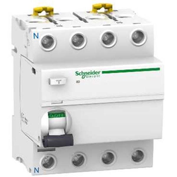 RCCB / Residual Current Circuit Breaker ELCB iID 4 Kutub 25A A9R71425